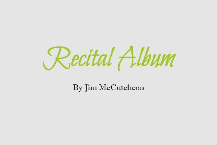 Recital Album Cover Website
